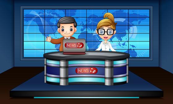 television news program